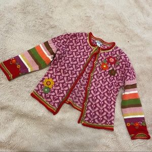 FINAL PRICE Hartstrings colorful sweater